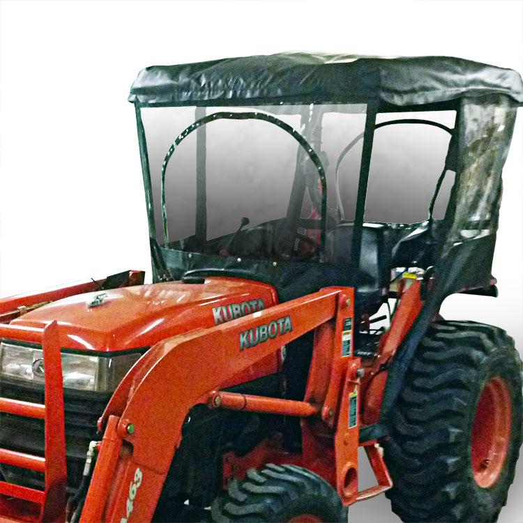 Kubota L Series_Front tractor cab enclosure kubota l2900, l3010, l3300, l3410, l3710 L2900 Kubota Spec at virtualis.co