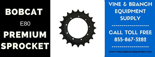 PREMIUM BOBCAT SPROCKET E80 / E85