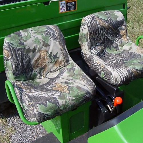 John Deere Gator Low Back Seat Covers Pair For XUV HPX