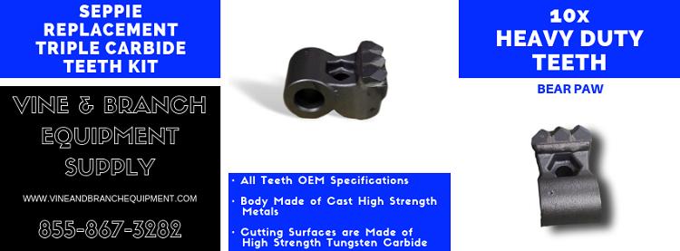 Details about 10 x SEPPI TRIPLE CARBIDE TEETH KIT