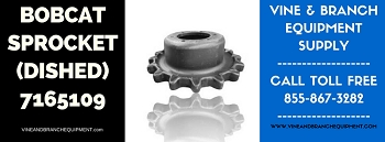 PREMIUM BOBCAT SPROCKET (NEW STYLE DISHED) T200 / T250 / T300 / T320 / T630 / T650 / T750 / T770 / T870