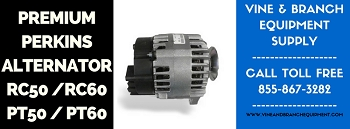 UPGRADED OEM PERKINS  ALTERNATOR   RC50 / RC60 / PT50 / PT60