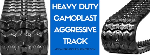 HEAVY DUTY CAMOPLAST RUBBER TRACK  CATERPILLAR 279C / 289C / 299C / 299D / 279D / 297C VTS (60 LINK TRACK)